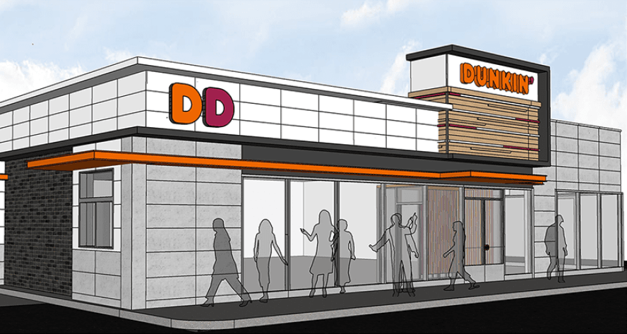 Dunkin Donuts Project Rendering