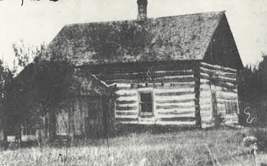 William Barnes Log House